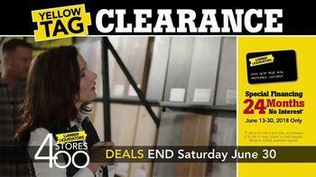 Lumber Liquidators Yellow Tag Clearance TV Spot, 'Bellawood' - Thumbnail 5