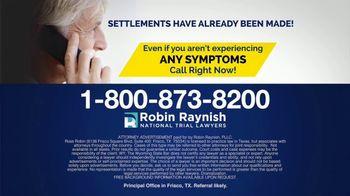 Robin Raynish Law TV Spot, 'IVC Blood Clot Filter' - Thumbnail 6