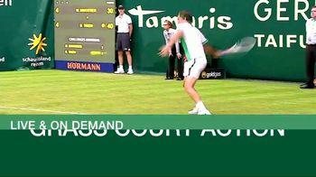 Tennis Channel Plus TV Spot, 'Grass Court Action'
