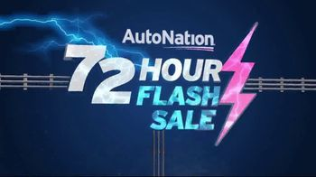 AutoNation 72 Hour Flash Sale TV Spot, '2018 Honda Accord & CR-V' - 1 commercial airings