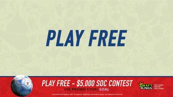 DraftKings Single Game Showdown TV Spot, 'Fantasy Soccer Contest: $5,000' - Thumbnail 2