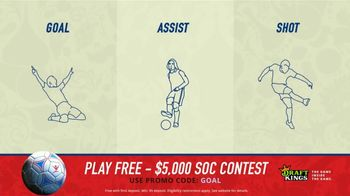 DraftKings Single Game Showdown TV Spot, 'Fantasy Soccer Contest: $5,000' - Thumbnail 7