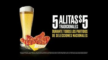 Buffalo Wild Wings TV Spot, 'Todos los partidos: alitas' [Spanish] - Thumbnail 8