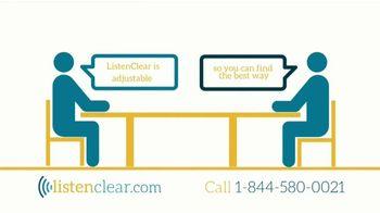ListenClear TV Spot, 'Hearing Aids' - Thumbnail 3