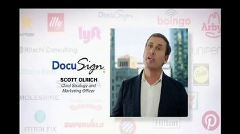 Oracle Cloud TV Spot, 'Oracle Cloud Customers: DocuSign: Scott Olrich' - Thumbnail 6