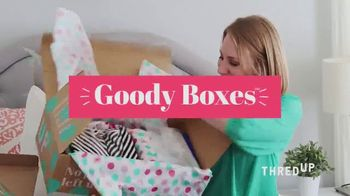 thredUP Goody Boxes TV Spot, 'Just for You' - Thumbnail 6