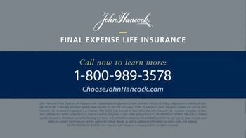 John Hancock Final Expense Life Insurance TV Spot, 'Take Care' - Thumbnail 8