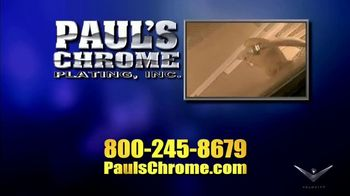 Paul's Chrome Plating, Inc. TV Spot, 'Show Quality Results' - Thumbnail 1