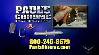 Paul's Chrome Plating, Inc. TV Spot, 'Show Quality Results'