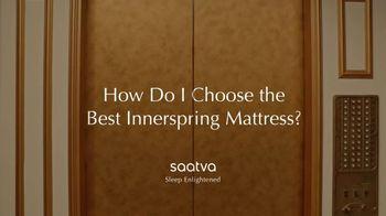 Saatva Mattress TV Spot, 'How Do I Choose the Best Innerspring Mattress?' - Thumbnail 1