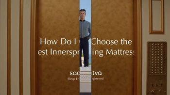 Saatva Mattress TV Spot, 'How Do I Choose the Best Innerspring Mattress?' - Thumbnail 2