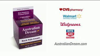 Australian Dream Back Pain Cream TV Spot, 'Real Medicine' Featuring Mary Lou Retton - Thumbnail 7