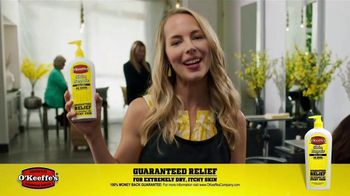 O'Keeffe's Skin Repair TV Spot, 'Hair Stylist'