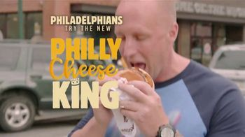 Burger King Philly Cheese King TV Spot, 'Philadelphians' - Thumbnail 5
