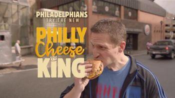 Burger King Philly Cheese King TV Spot, 'Philadelphians' - Thumbnail 6