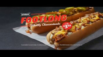 Sonic Drive-In Footlong Philly Cheesesteaks TV Spot, 'Stakeout' - Thumbnail 10