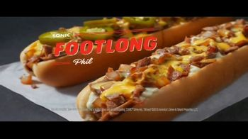 Sonic Drive-In Footlong Philly Cheesesteaks TV Spot, 'Stakeout' - Thumbnail 9