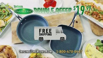 OrGreenic Diamond Granite Pan TV Spot, 'Tired of Scraping Pans?' - Thumbnail 10