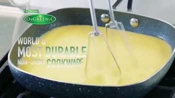 OrGreenic Diamond Granite Pan TV Spot, 'Tired of Scraping Pans?' - Thumbnail 5