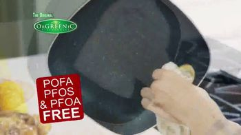 OrGreenic Diamond Granite Pan TV Spot, 'Tired of Scraping Pans?' - Thumbnail 8