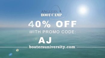 Boaters University TV Spot, 'Anglers Bootcamp: Build Confidence' - Thumbnail 9