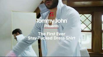 Tommy John Stay-Tucked Dress Shirt TV Spot, 'Still Tucked'