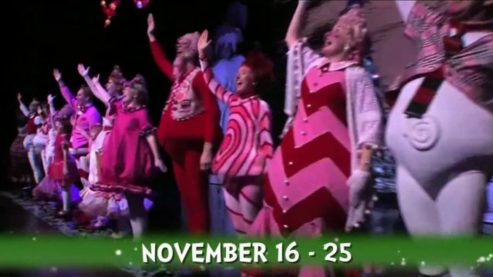 How The Grinch Stole Christmas Musical.Dr Seuss How The Grinch Stole Christmas The Musical Tv Commercial 2018 The Chicago Theatre Video
