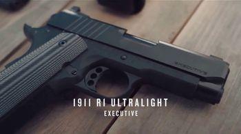 Remington 1911 R1 Ultralight Executive TV Spot, 'Unstoppable'