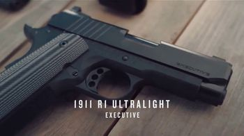Remington 1911 R1 Ultralight Executive TV Spot, 'Unstoppable'