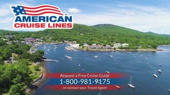 American Cruise Lines TV Spot, 'Grand New England' - Thumbnail 8