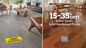 Lumber Liquidators TV Spot, 'The Beauty of Hardwood' - Thumbnail 6