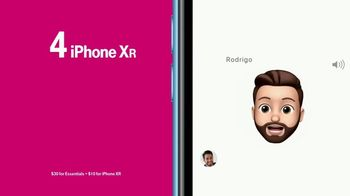 T-Mobile Unlimited TV Spot, 'Apple iPhone XR: Emojis' - Thumbnail 6
