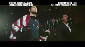 UFC 230 TV Spot, 'Cormier vs. Lewis: Two of the Best' - 102 commercial airings