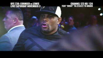 UFC 230 TV Spot, 'Cormier vs. Lewis: Two of the Best' - Thumbnail 2