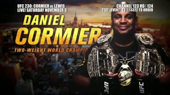 UFC 230 TV Spot, 'Cormier vs. Lewis: Two of the Best' - Thumbnail 5
