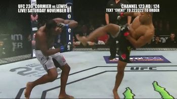 UFC 230 TV Spot, 'Cormier vs. Lewis: Two of the Best' - Thumbnail 9