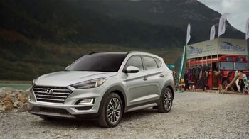 2019 Hyundai Tucson TV Spot, 'Family of SUVs: Kiteboarding' [T1]
