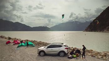 2019 Hyundai Tucson TV Spot, 'Family of SUVs: Kiteboarding' [T1] - Thumbnail 7