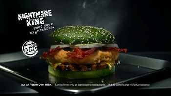 Burger King Nightmare King TV Spot, 'Feed Your Nightmares' - Thumbnail 10