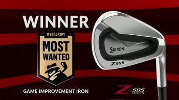 Srixon Golf Z 585 Irons TV Spot, 'Get the Distance'