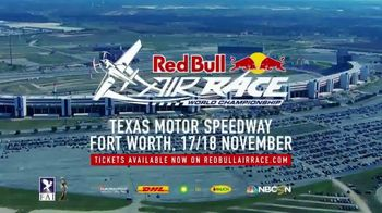 Red Bull Air Race TV Spot, '2018 Texas Motor Speedway' - Thumbnail 8