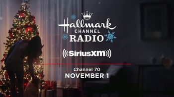 SiriusXM Satellite Radio TV Spot, 'Hallmark Channel Radio' - Thumbnail 8