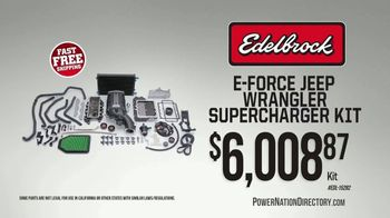 PowerNation Directory TV Spot, 'Supercharger Kit, Differentials, Crate Engines and Rocker Arms'