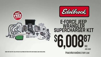 PowerNation Directory TV Spot, 'Supercharger Kit, Differentials, Crate Engines and Rocker Arms' - Thumbnail 1