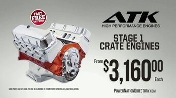 PowerNation Directory TV Spot, 'Supercharger Kit, Differentials, Crate Engines and Rocker Arms' - Thumbnail 4