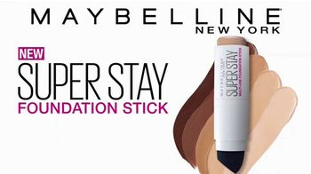 Maybelline New York SuperStay Foundation Stick TV Spot, 'Cover & Conceal' - Thumbnail 4