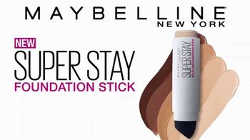Maybelline New York SuperStay Foundation Stick TV Spot, 'Cover & Conceal' - Thumbnail 9