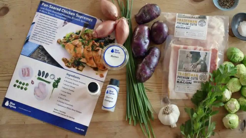 Blue Apron TV Commercial, 'Farm Fresh Ingredients'