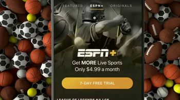 ESPN+ TV Spot, 'Exclusive Access to Live Events and Programming' - 229 commercial airings
