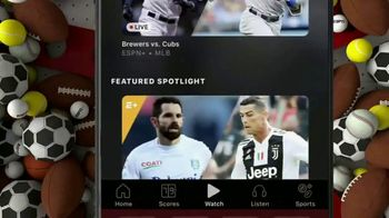 ESPN+ TV Spot, 'Exclusive Access to Live Events and Programming' - Thumbnail 5